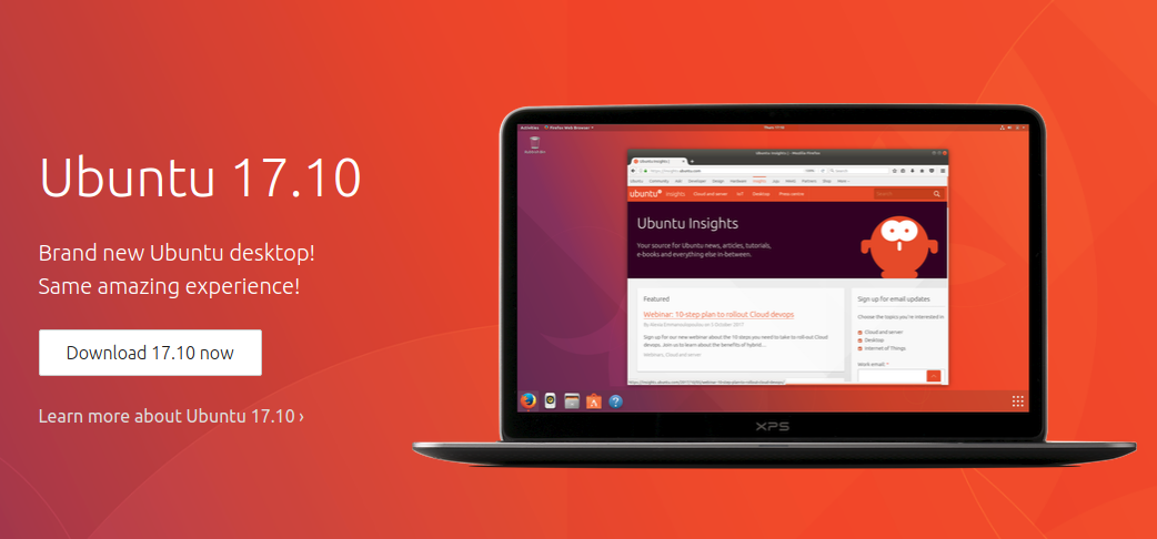 Ubuntu 17.10 is coming