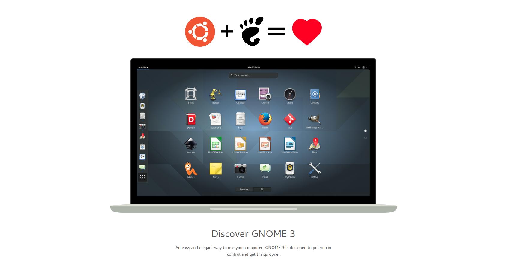 Ubuntu+GNOME=满满的爱,o(∩∩)o...哈哈