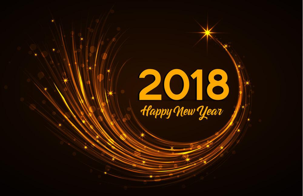 2018,新年快乐