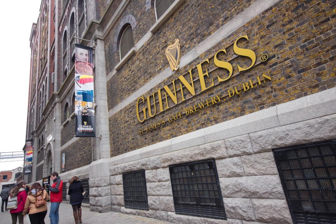 The Guinness Storehouse in Dublin