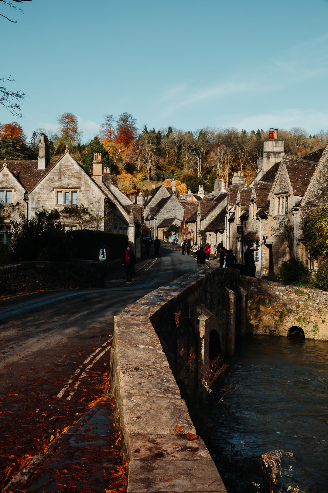 The iconic Shot of Castle Combe