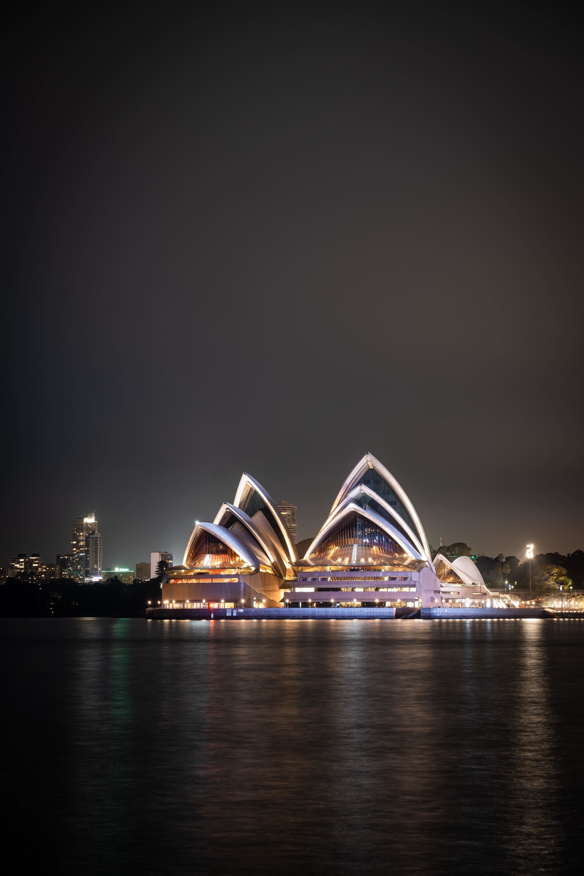 View of The Opera House from Milsons Point