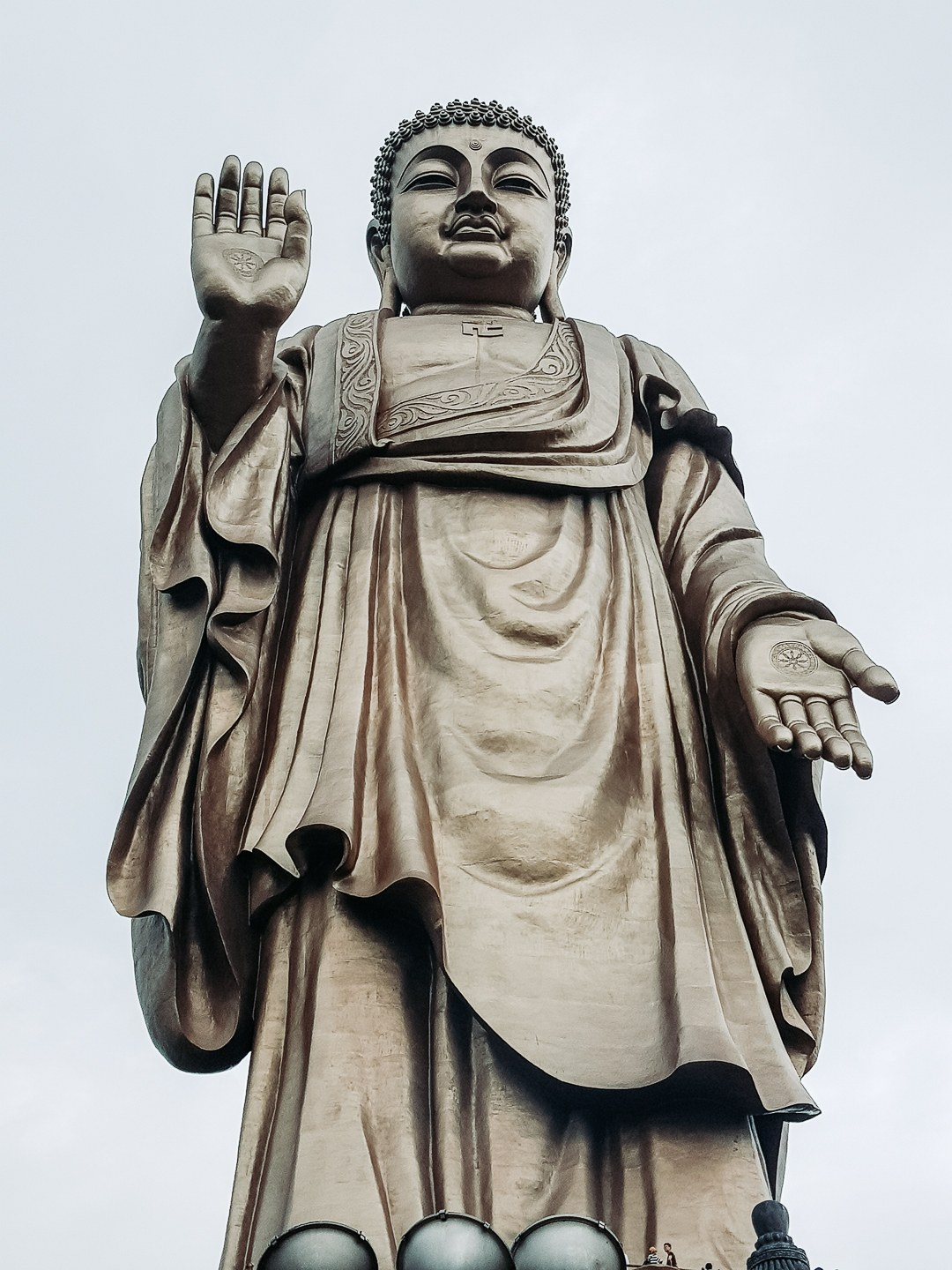 One of the Buddha\x27s at the Gardens. Absolutely massive statue!