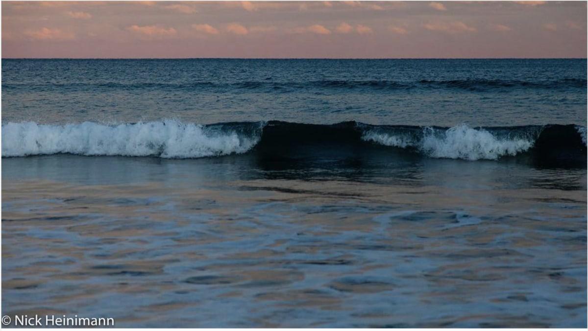 Waves crashing is so peaceful
