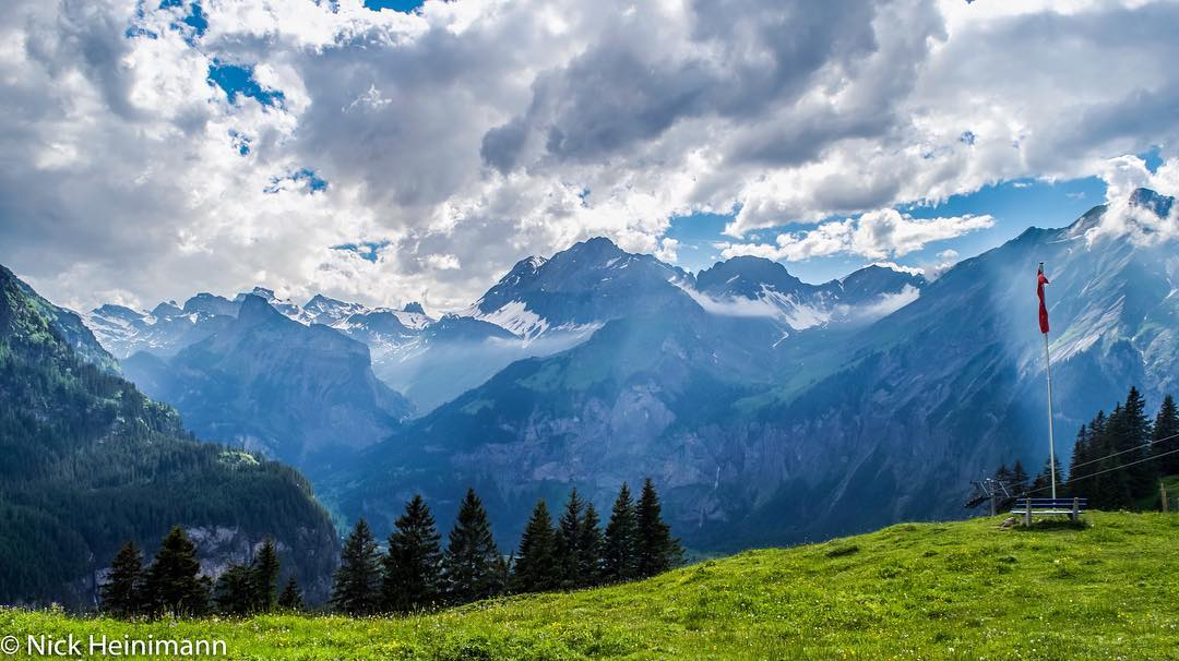 Mountains as far as the eye can see!