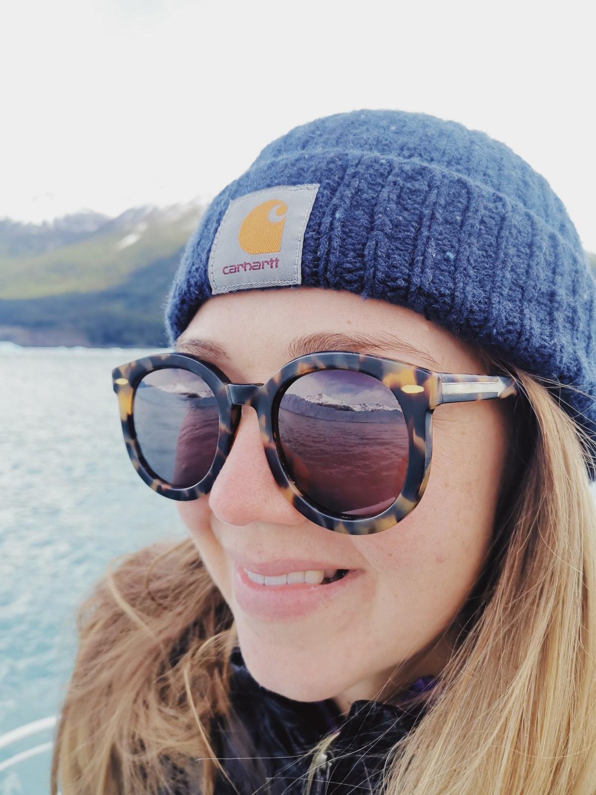Eying up Perito Moreno