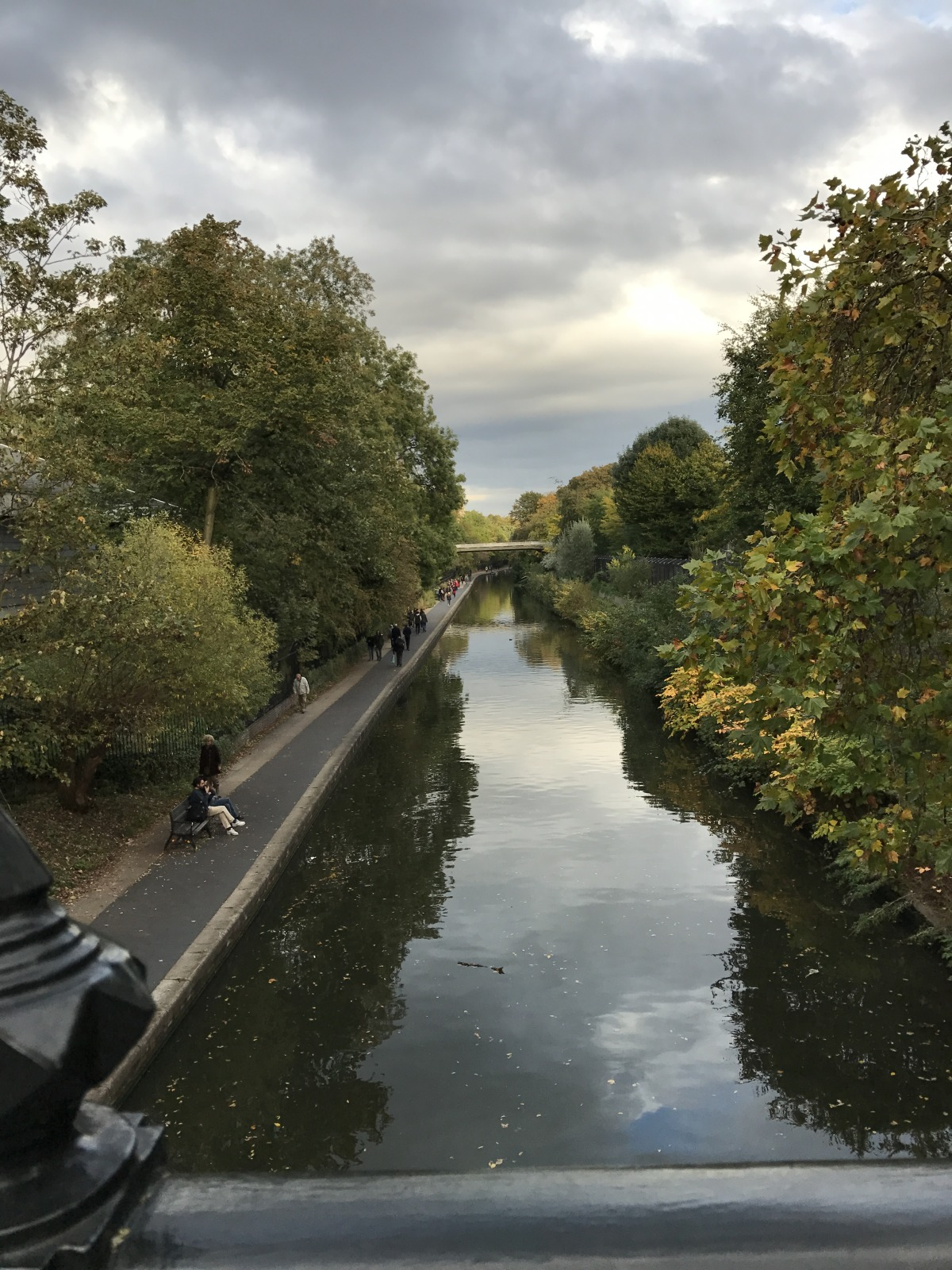Regents Canal, the scenic route to Camden Town