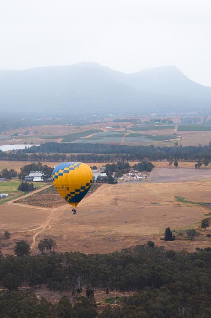 The Hunter Valley is so beautiful, can\x27t even imagine how breathtaking it would be on a sunny day