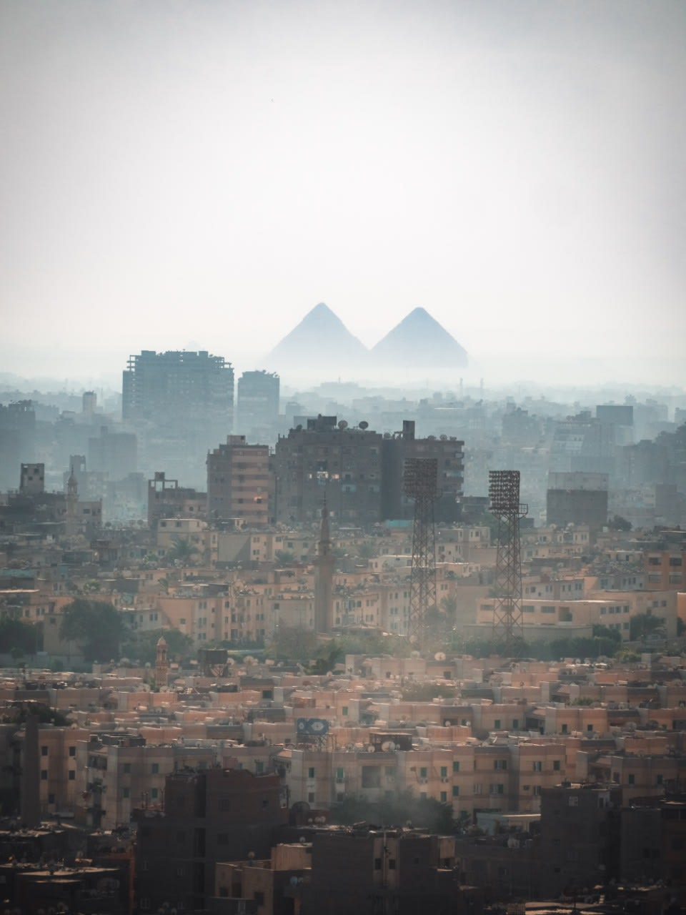 Overlooking the City of Cairo