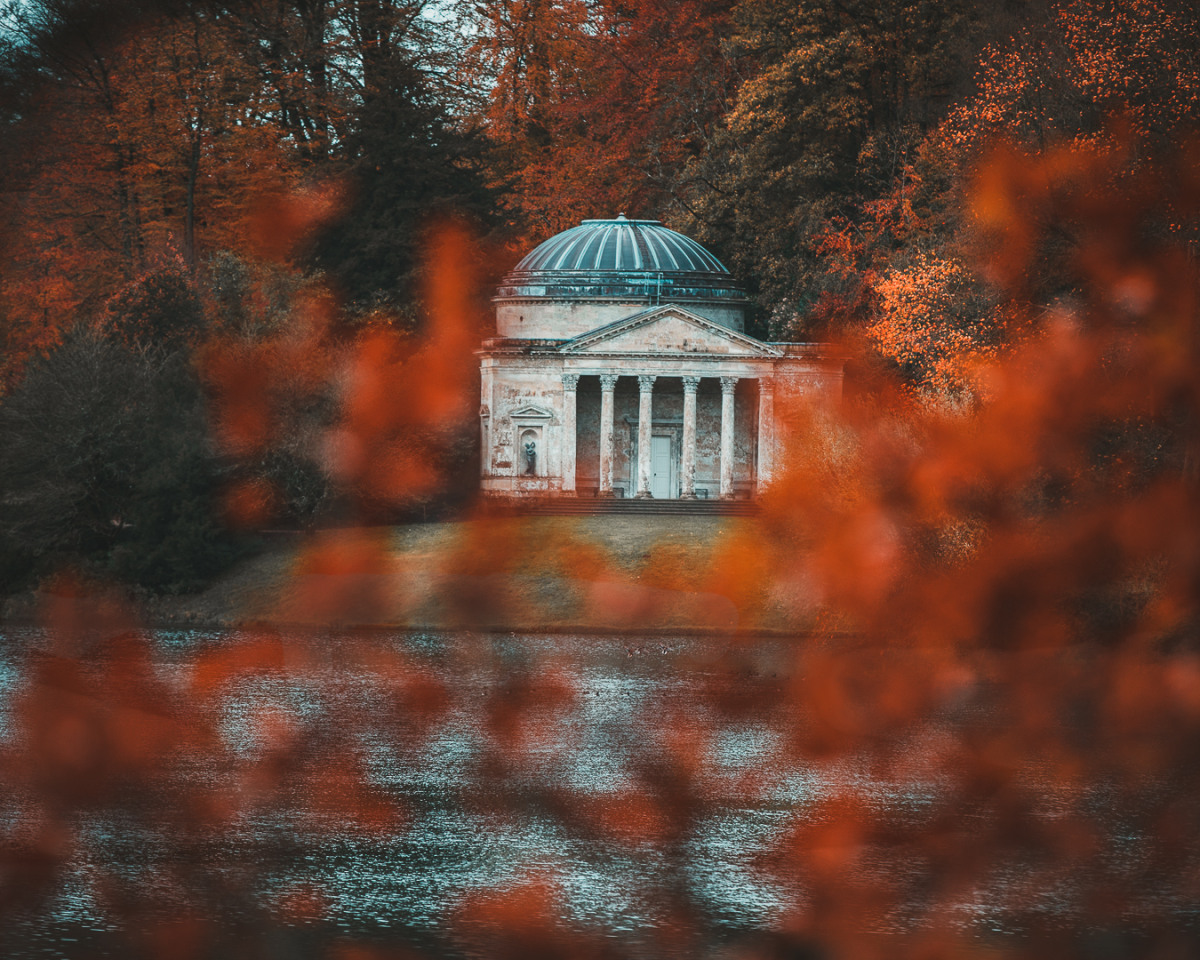 The Historic Site at Stourhead Gardens