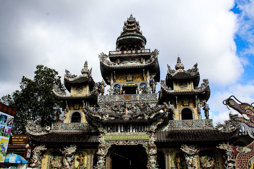The Pagoda from the outside