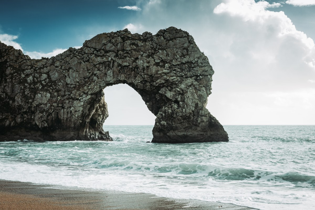 The Durdle Door itself
