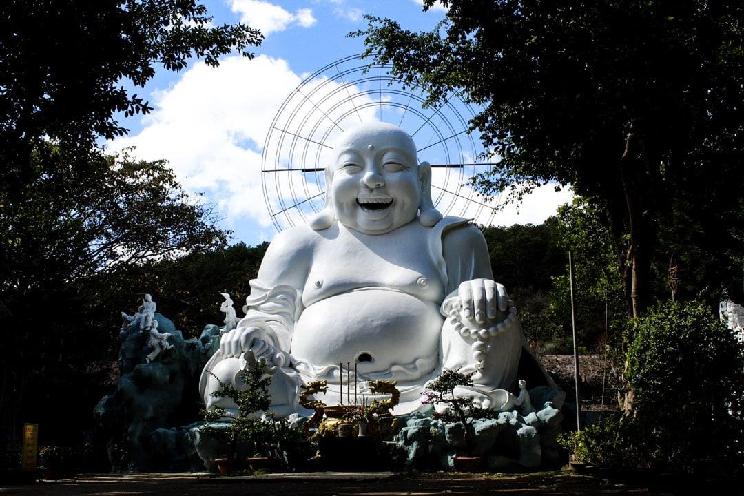 The big super happy Buddha