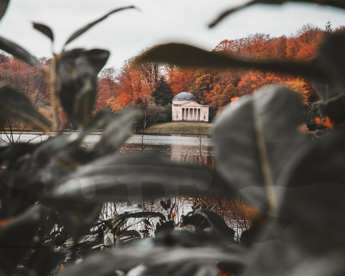 Another glimpse of one of the historic sites at Stourhead