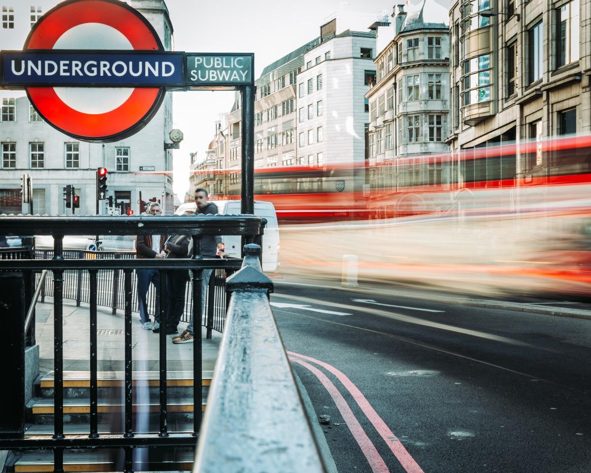 Take \x26 Experience the London Underground.
