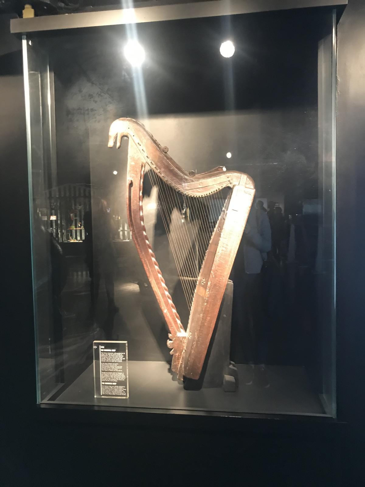 The Guinness harp