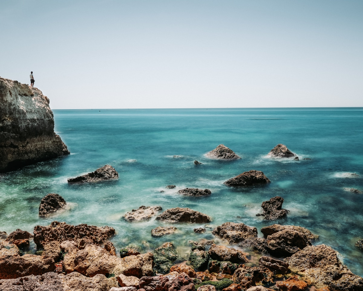 The algarve coast has some of the craziest rock formations I have seen