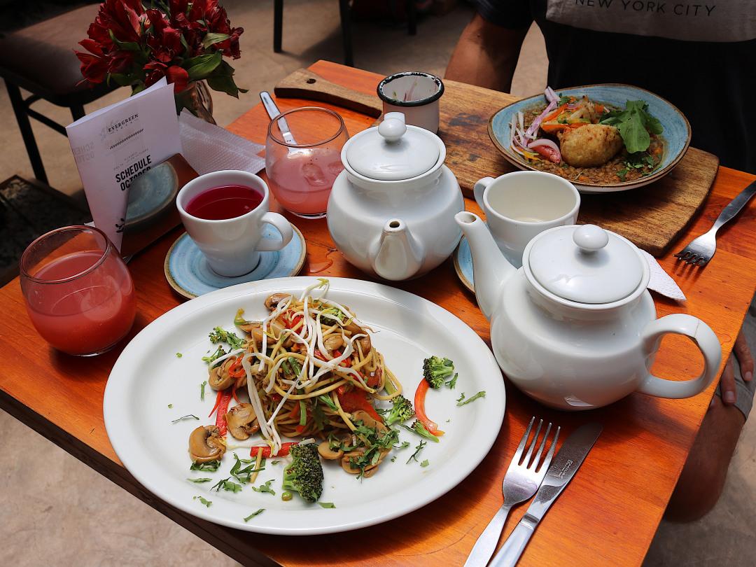 Green Point Vegan Food in Cusco, Peru
