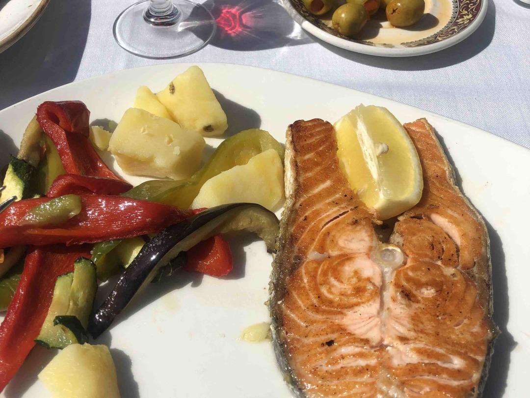 Salmon in the Square