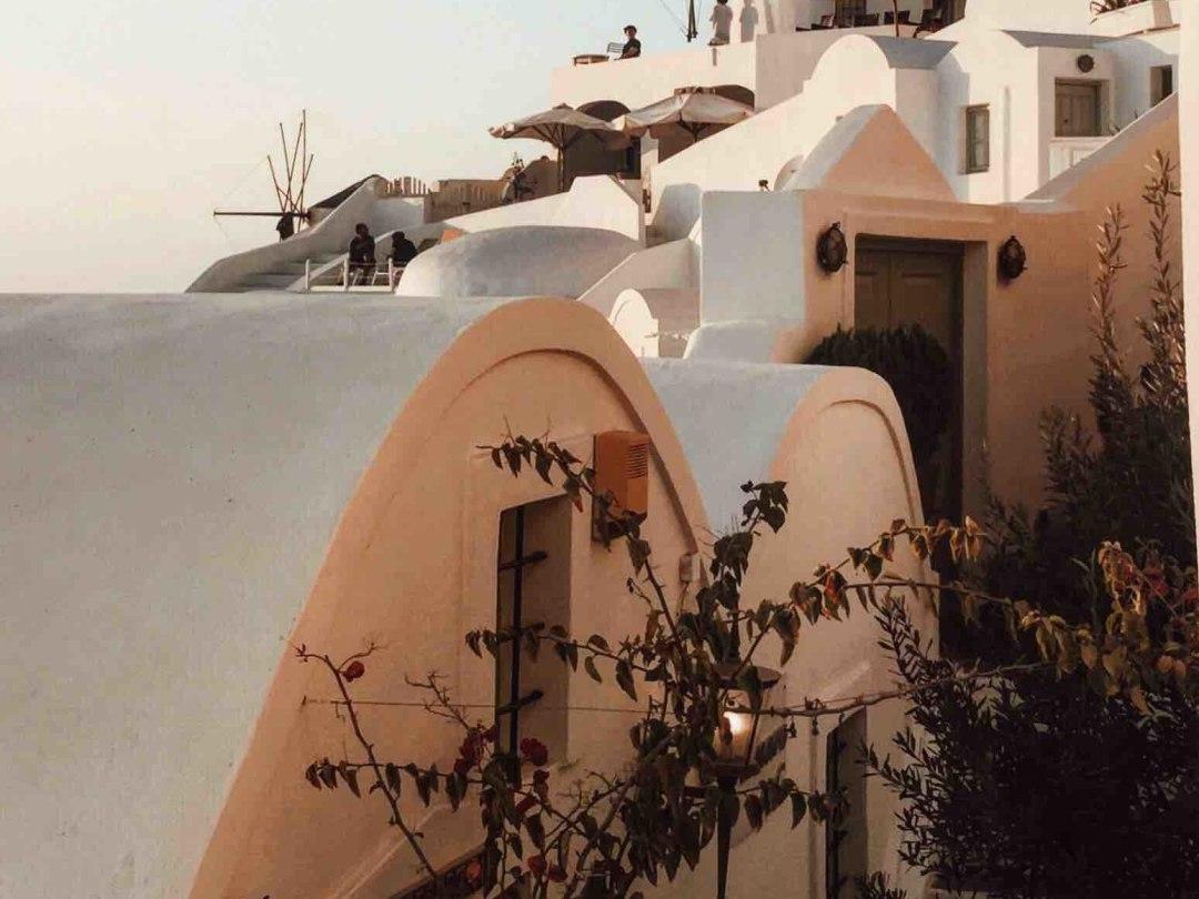 Oìa, Santorini
