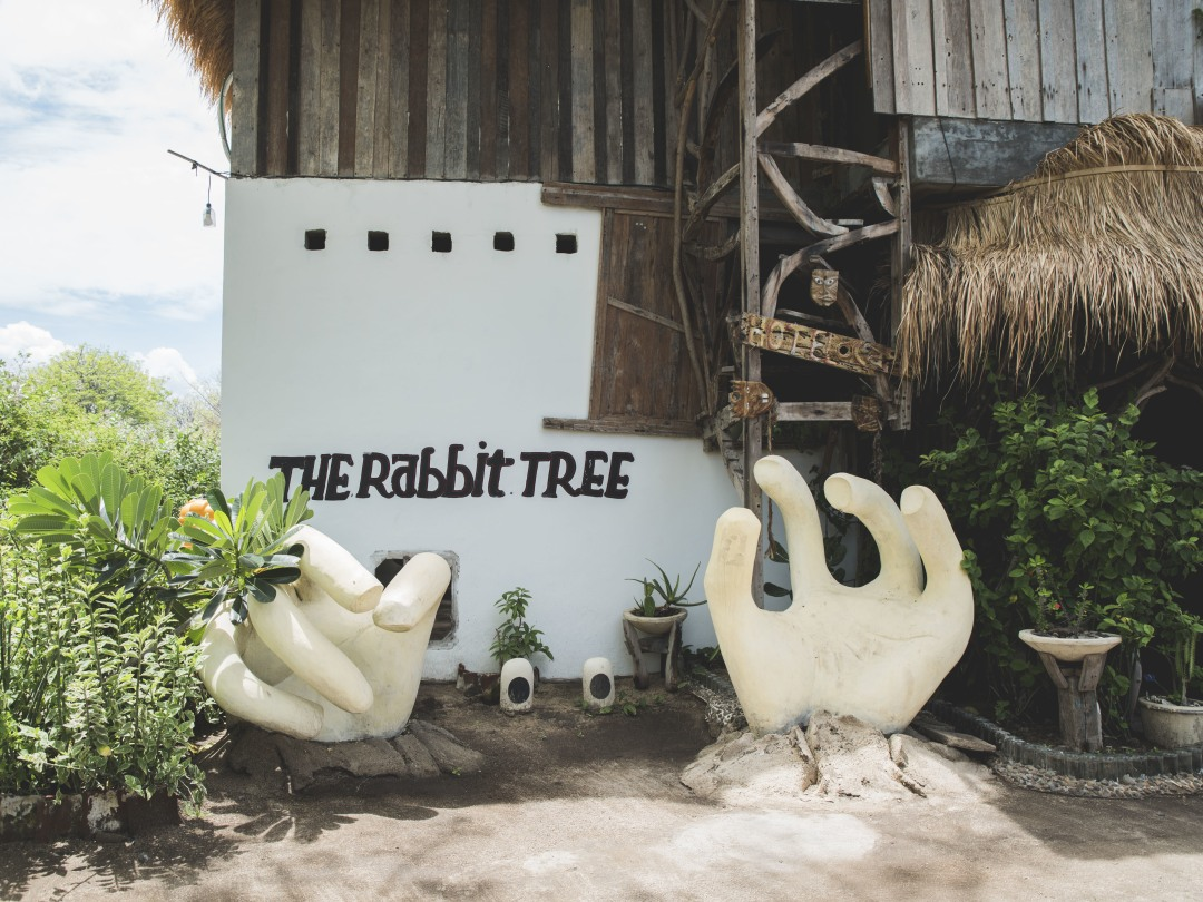 The Rabbit Tree Hostel, Gili Meno