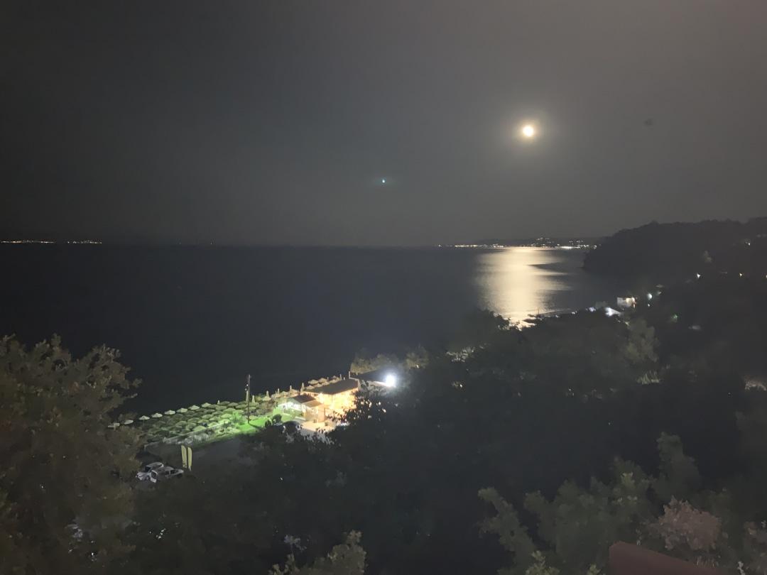 Moonlight at Kallithea