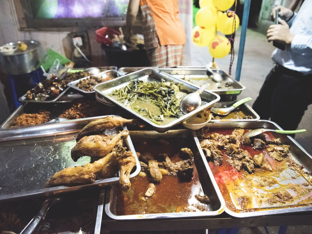 The Unique Street Food In Yangon