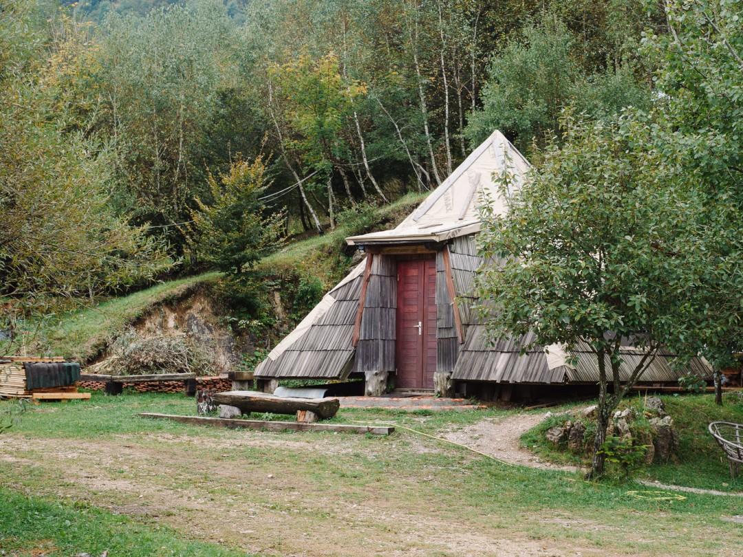 Native Lodge near Risnjak National Park