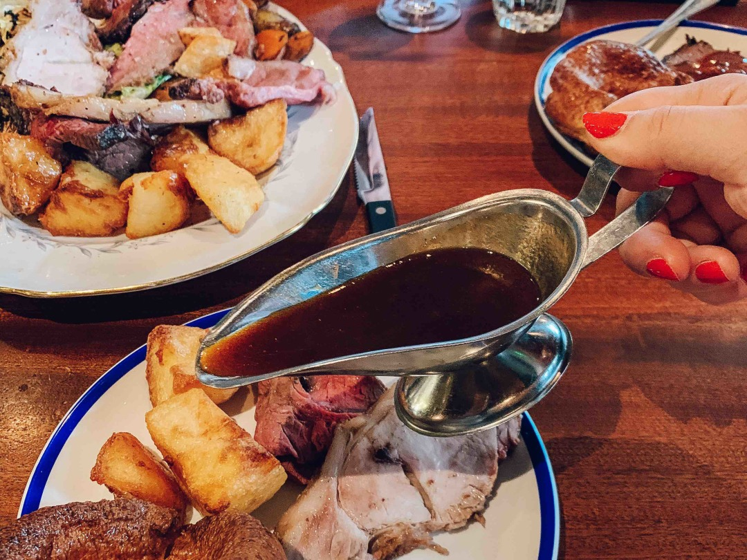 Sunday Roast at Blacklock Shoreditch