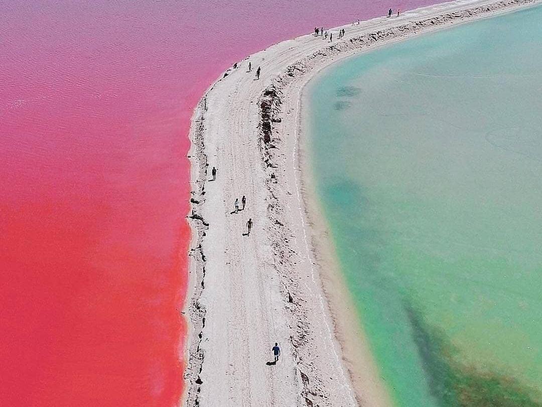 Las coloradas, Mexico, Yucatan