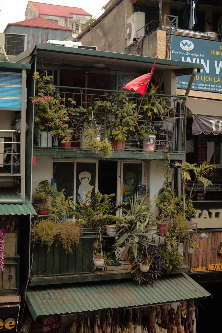 Vietnamese style building