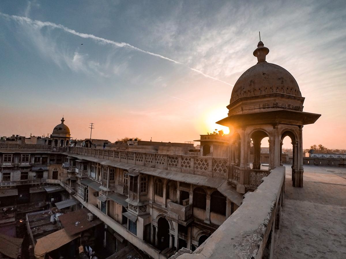 Khari Baoli terrace