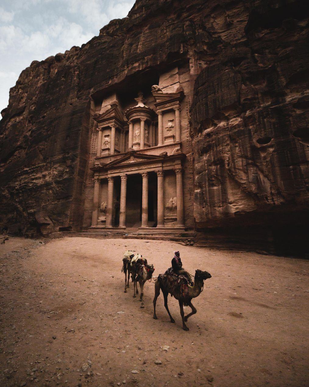 Roaming on Camel Back