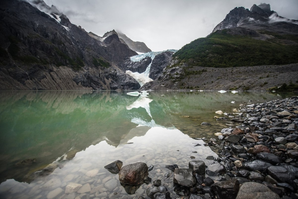 The Perros Glacier is one of the wettest places in the park