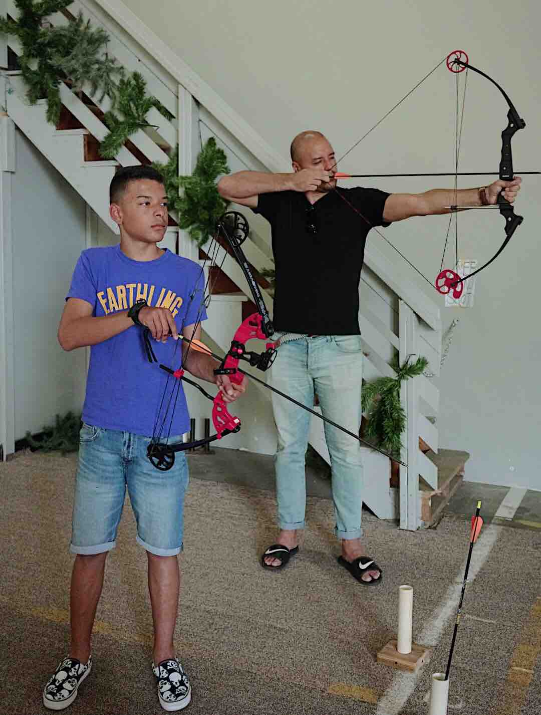 We took our teen to an archery lesson