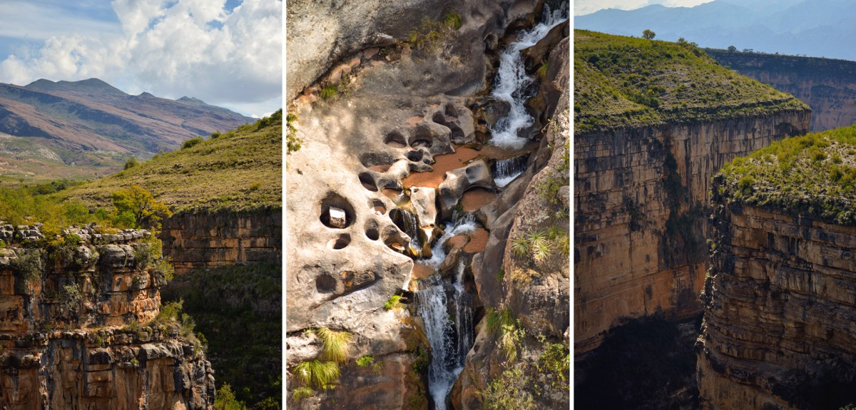 The great canyon of Garrapatal is a natural World wonder