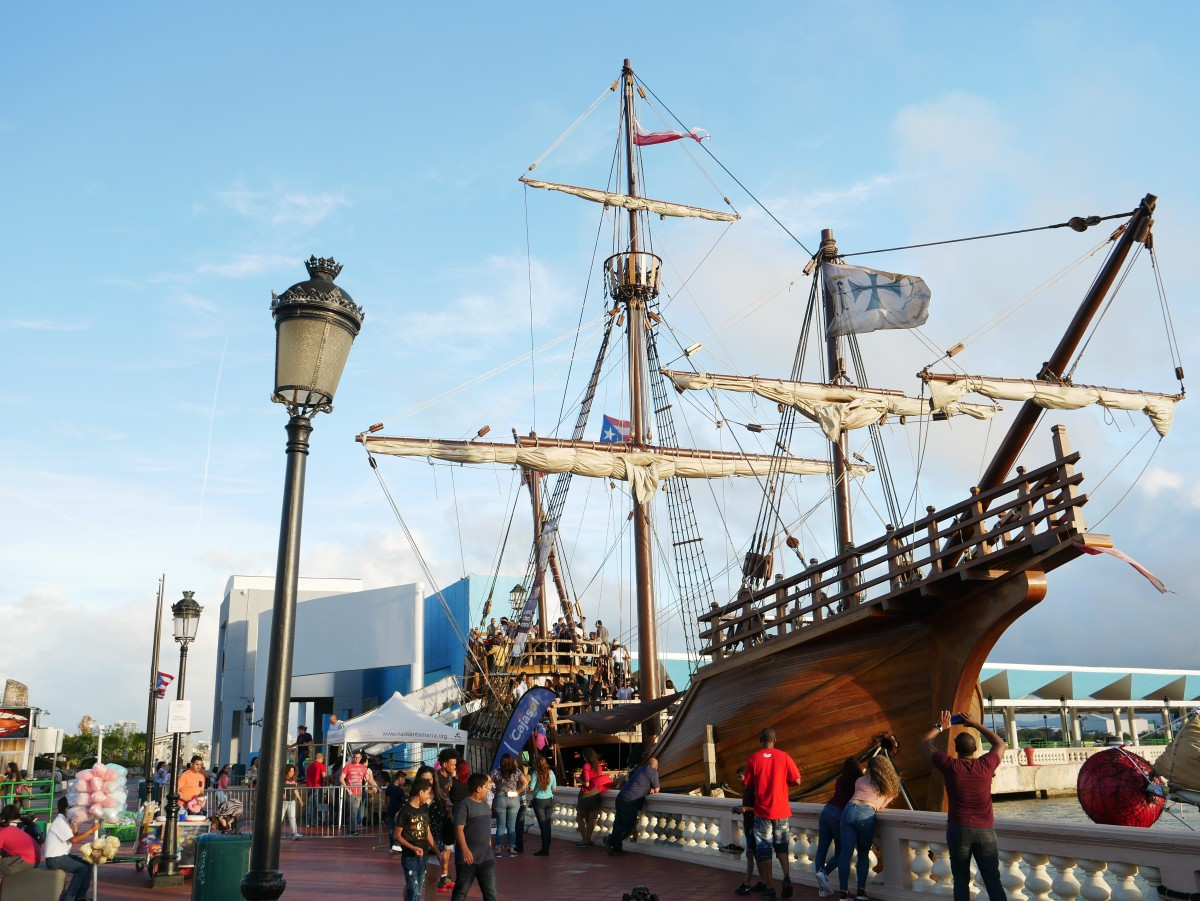 Replica of the Santa Maria (The ship that Columbus used in his first travel)