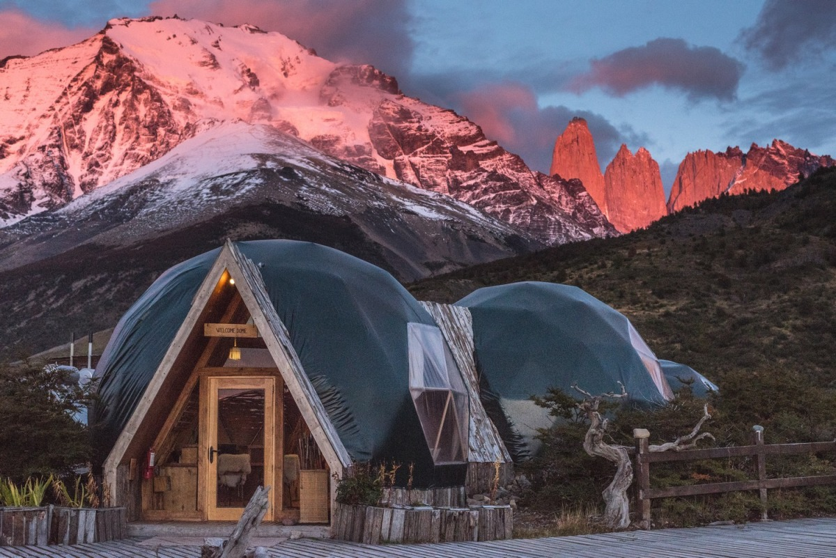 A last sunrise in paradize (EcoCamp Patagonia)