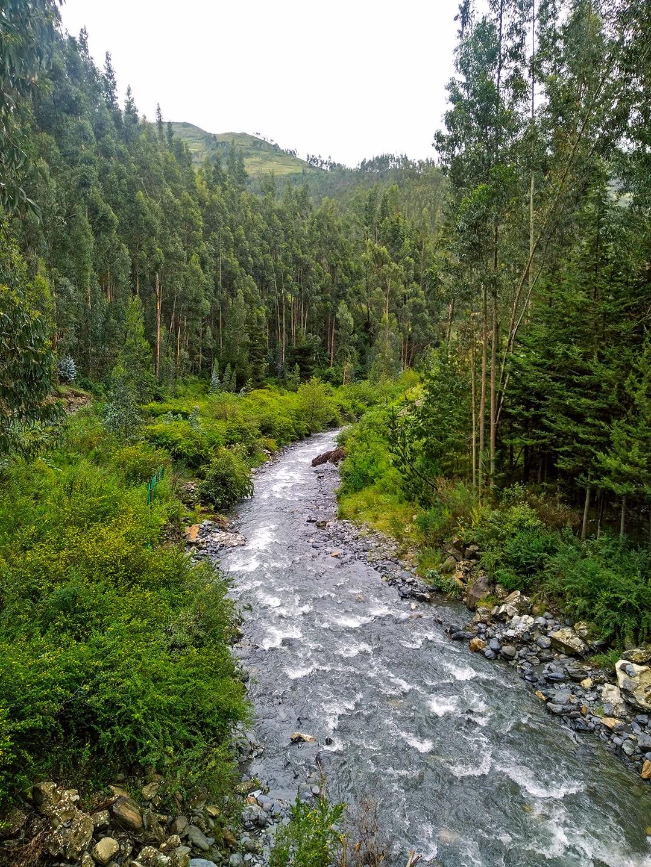The Paucartambo river