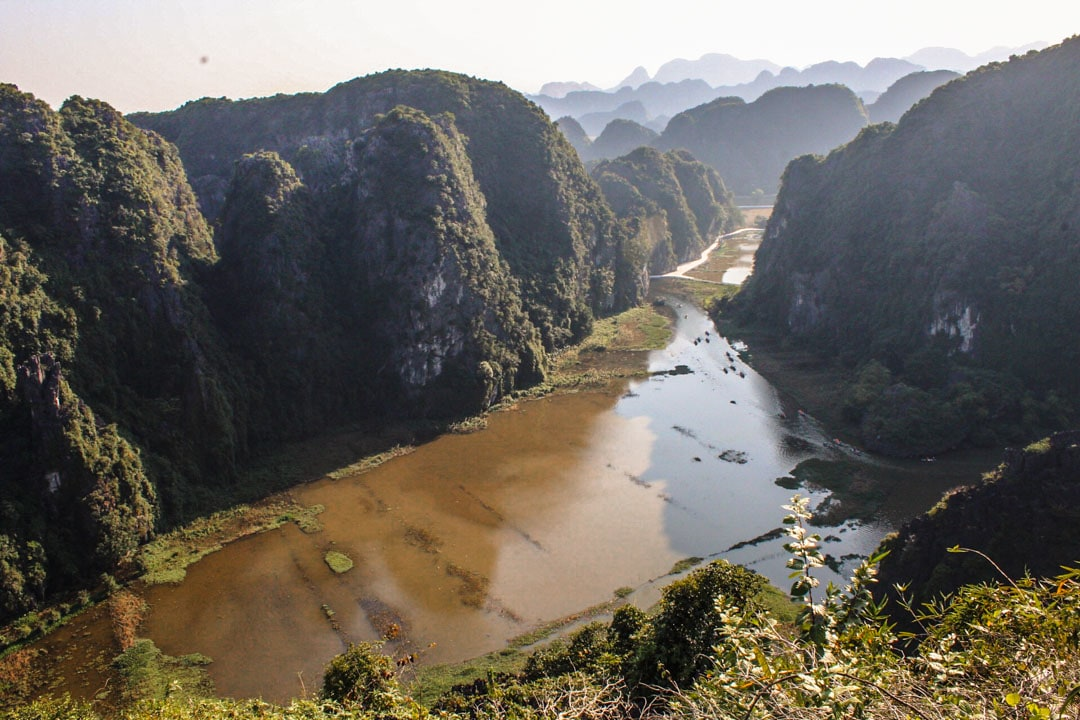 View over Tam Coc