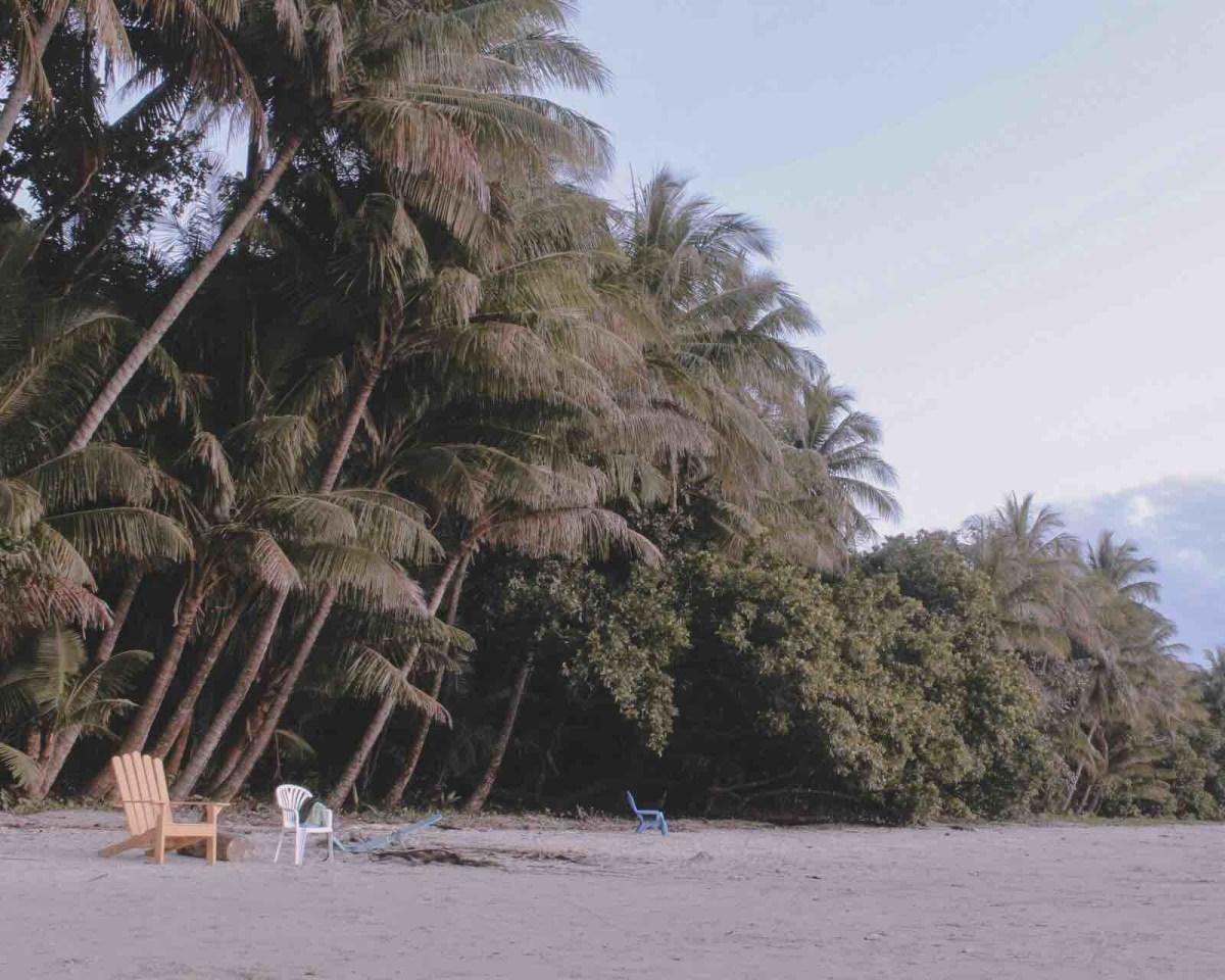 Camping's beach