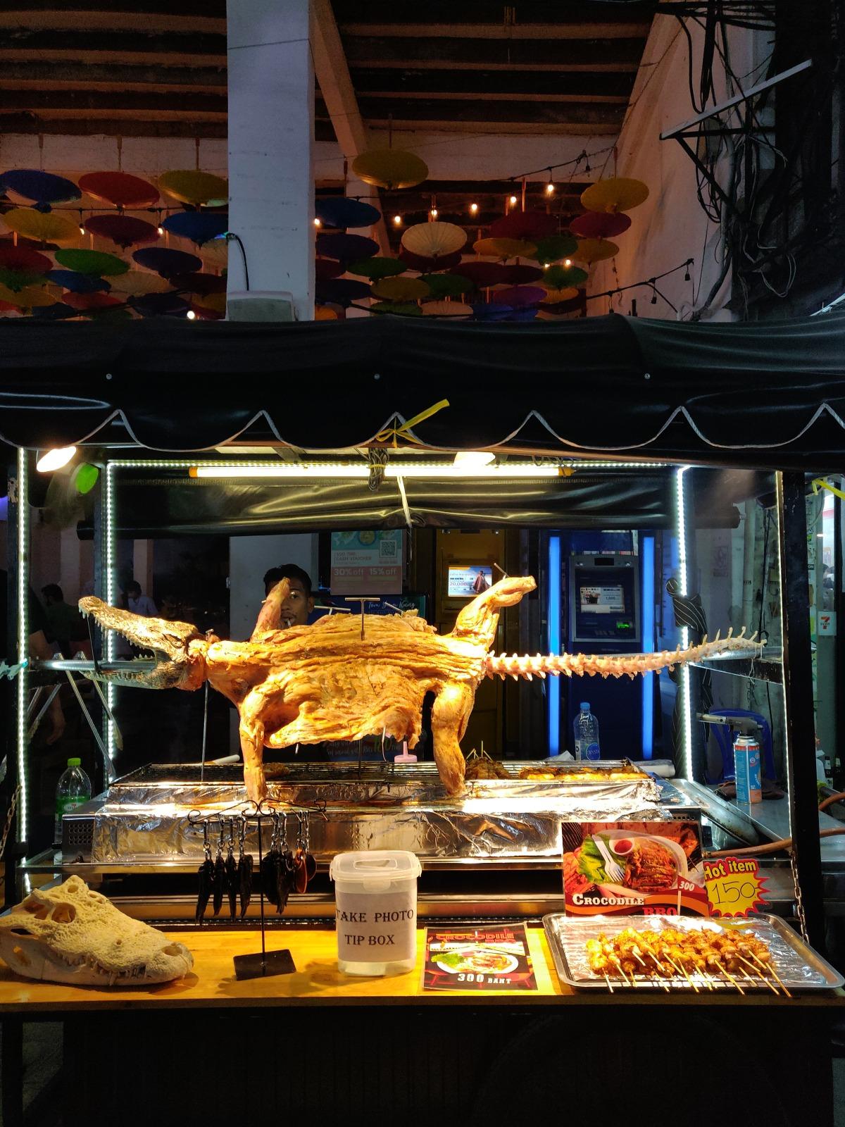 Crocodile Kebabs