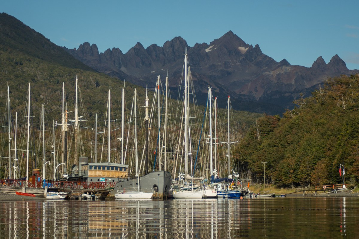 Puerto Williams is a peaceful locality that attracts lots of sailors from around the world