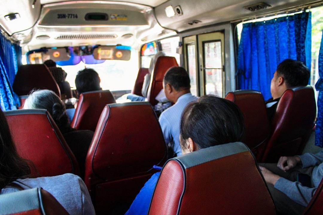 Vietnamese local bus