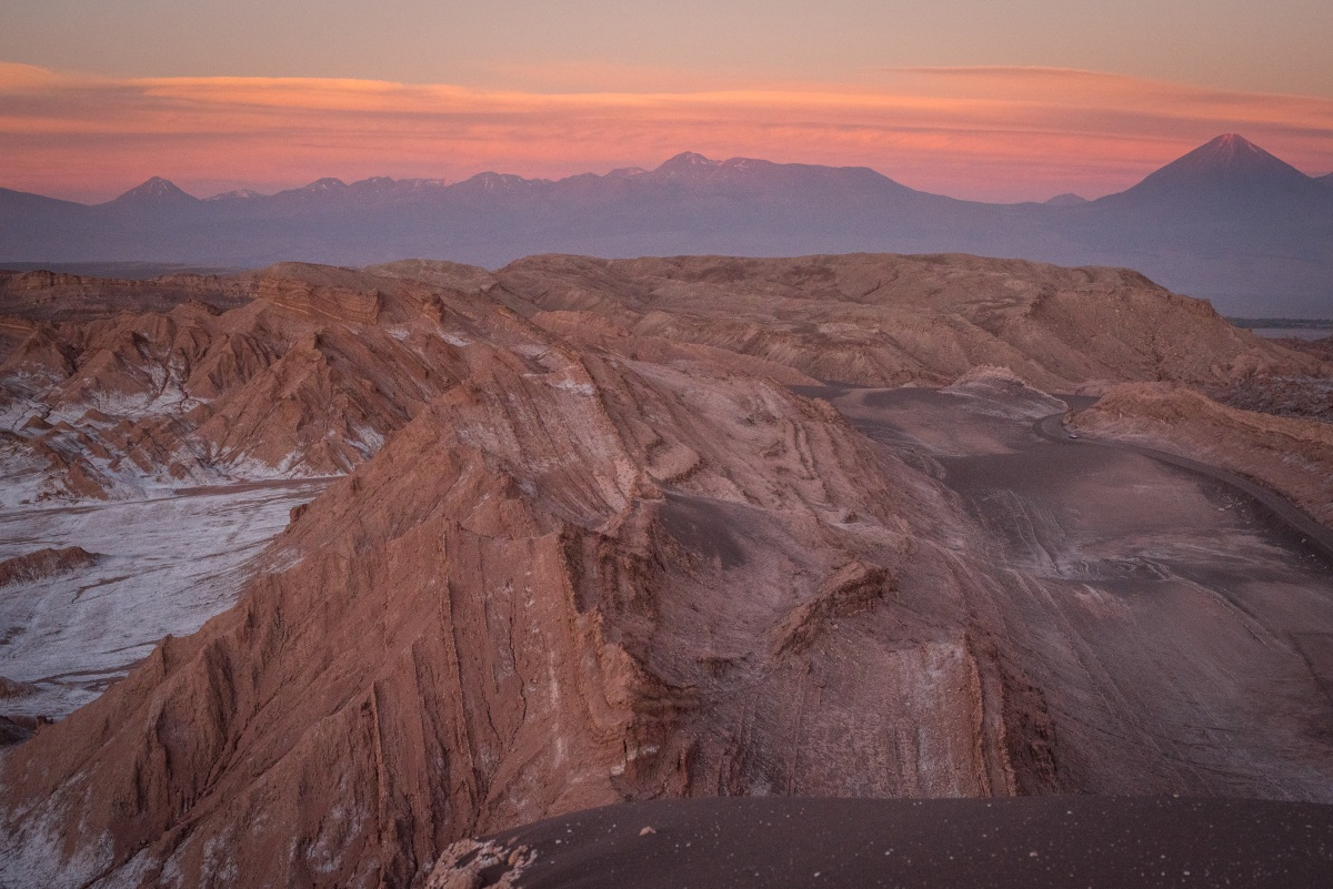 Sunsets in the Moon Valley are simply epic