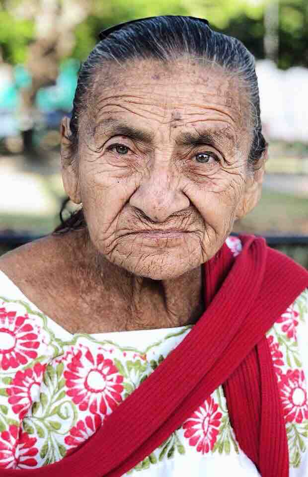 even though she only spoke mayan. we chatted for an hour.