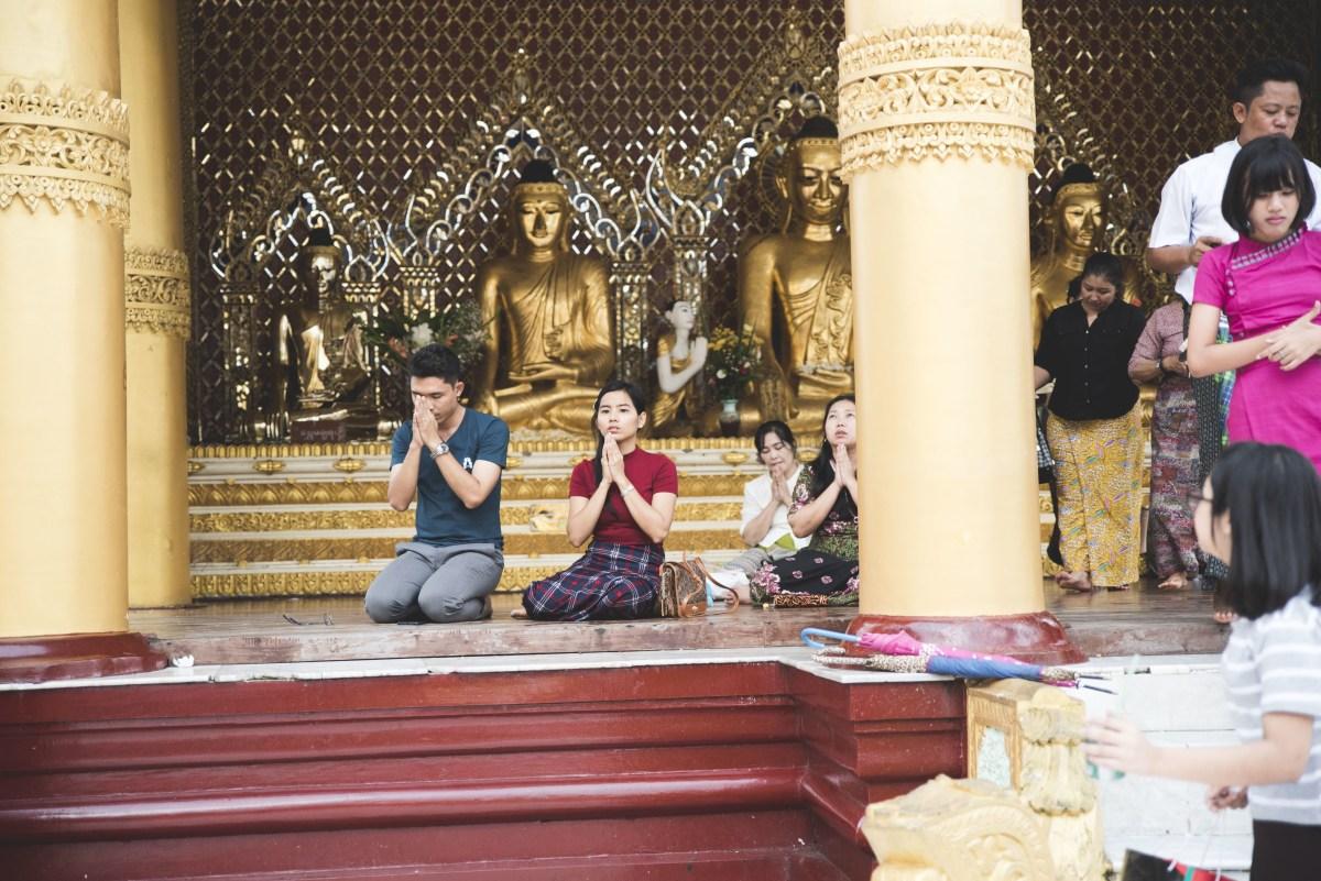 Shwedagon Pagona, Yangon