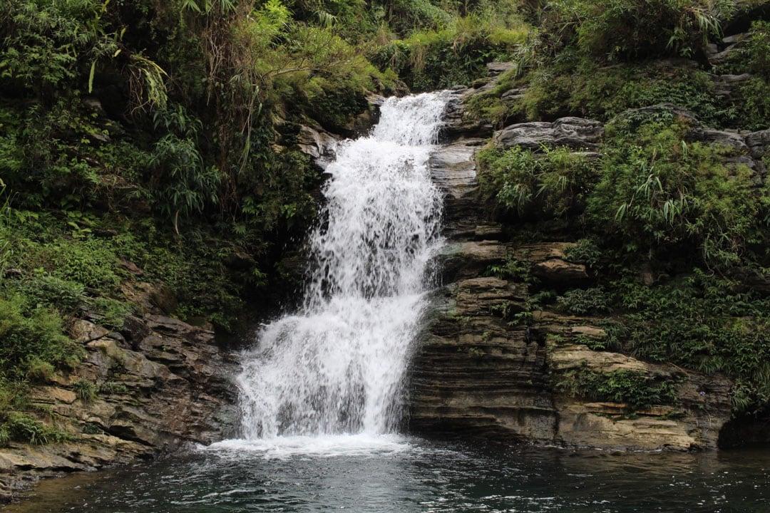 Du Gia waterfall