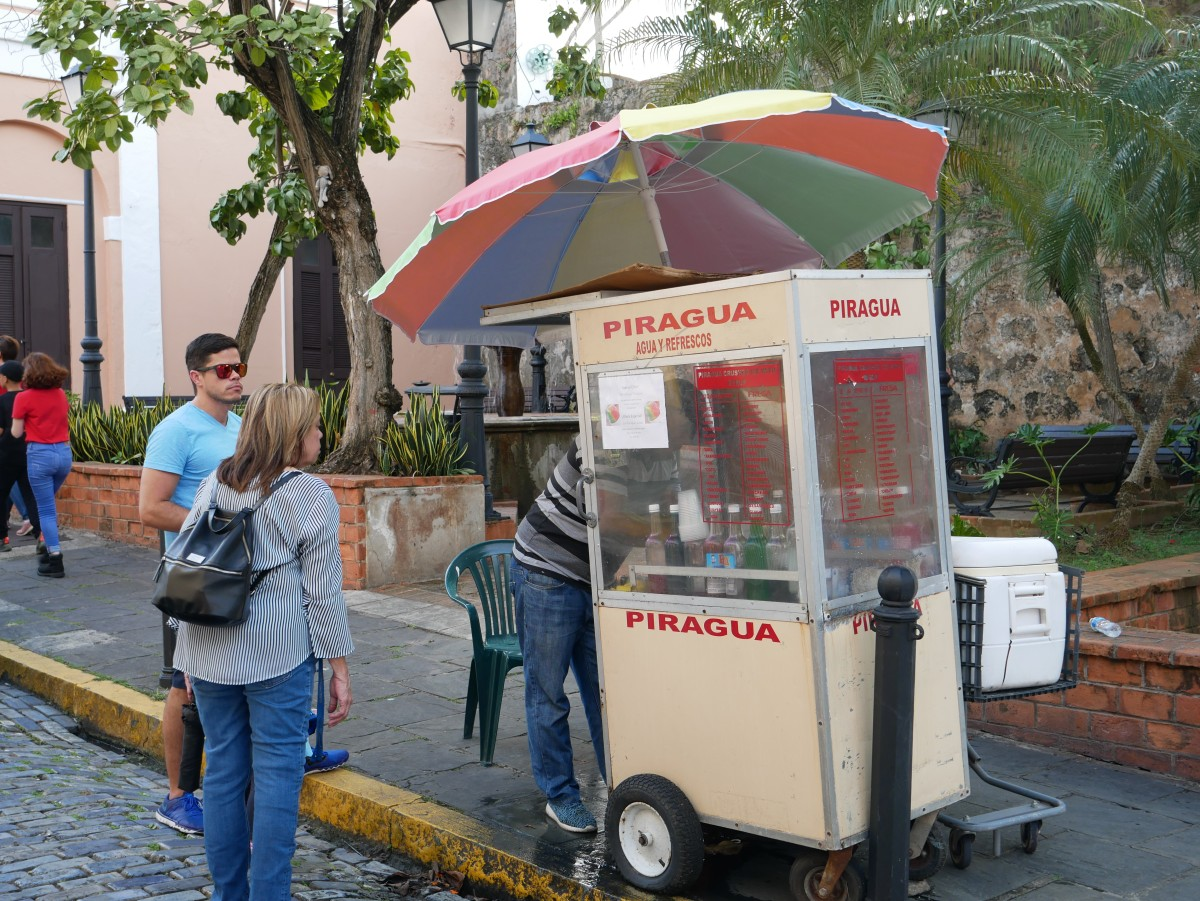 Cool down with a piragua.
