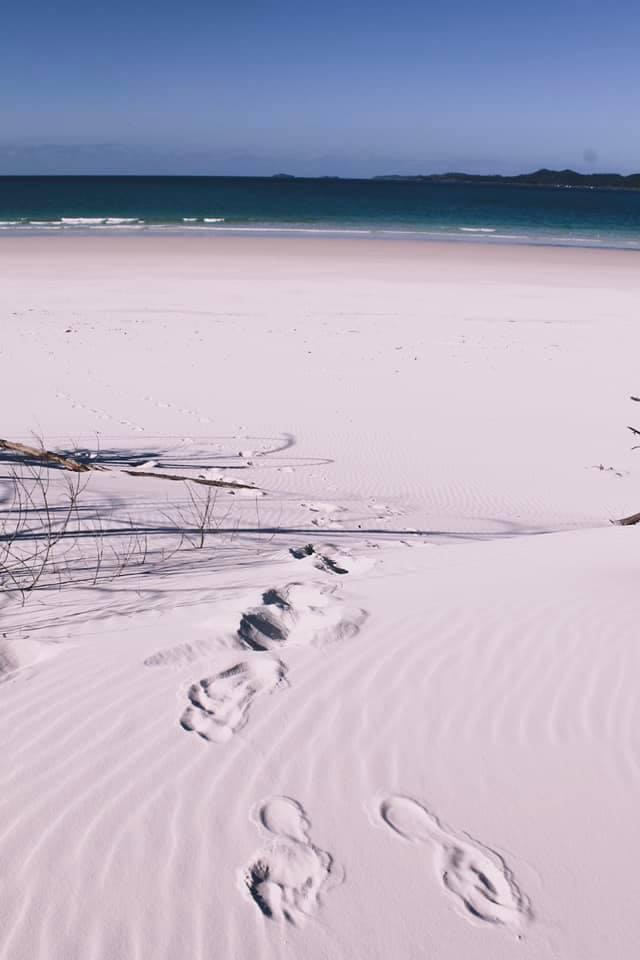 Whitest beach ever